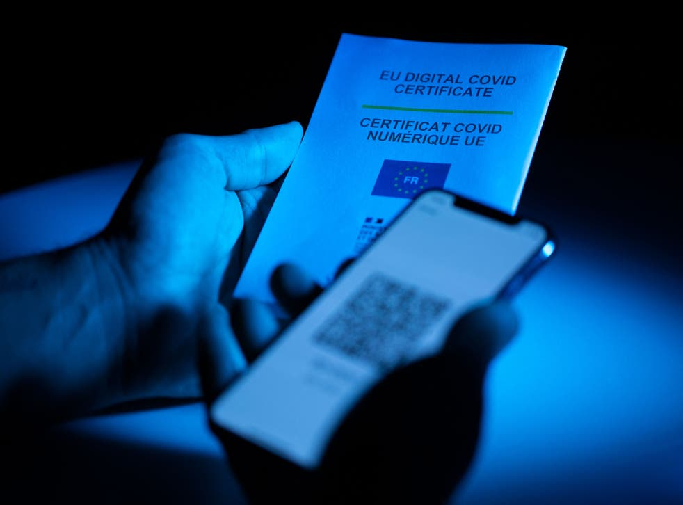 <p>The EU's Covid passport system must be linked up with the UK's</p>