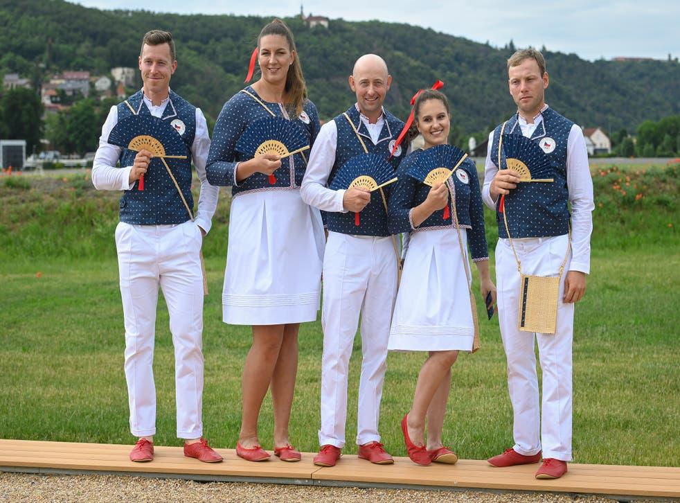 <p>Czech Republic Olympic Uniforms</p>