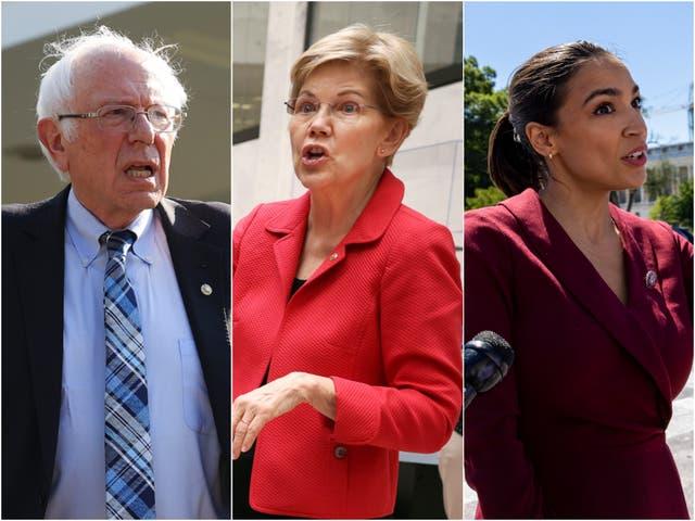<p>Progressive politicians such as Bernie Sanders, Elizabeth Warren, and Alexandria Ocasio-Cortez slammed Amazon owner Jeff Bezos for his spaceflight. </p>