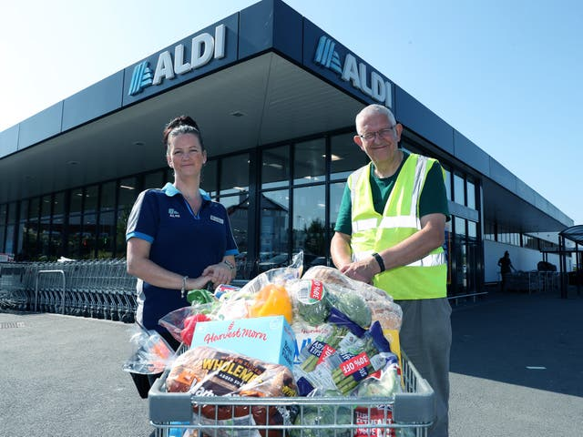 <p>Aldi plans to donate more than one million meals to those in need during the school summer holidays</p>
