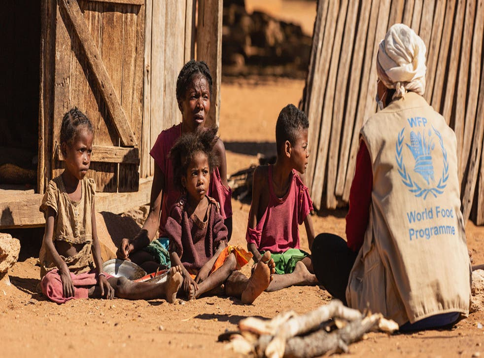 <p>Drought and poverty have led to severe hunger in southern Madagascar.</p>