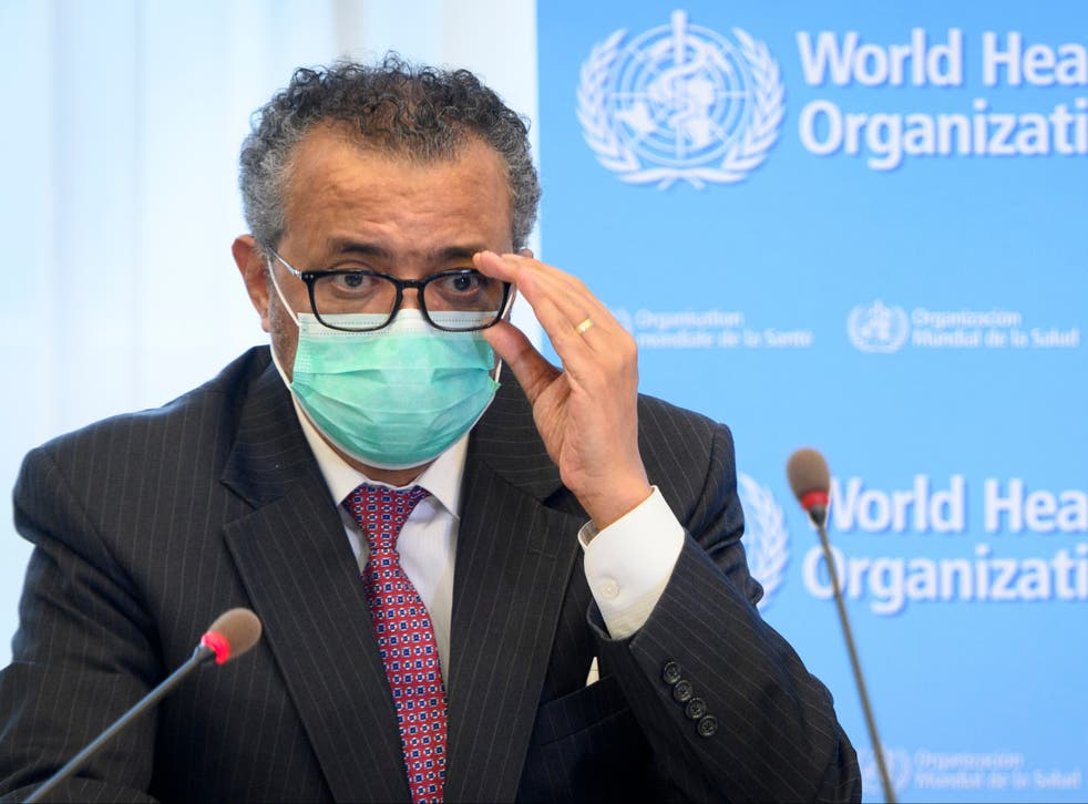 <p>The WHO director-general says the world's common goal must be to get 70 per cent of every country's population vaccinated against Covid-19 by middle of next year</p>