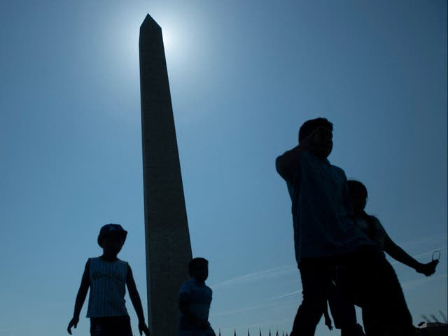 <p>The Washington Monument</p>