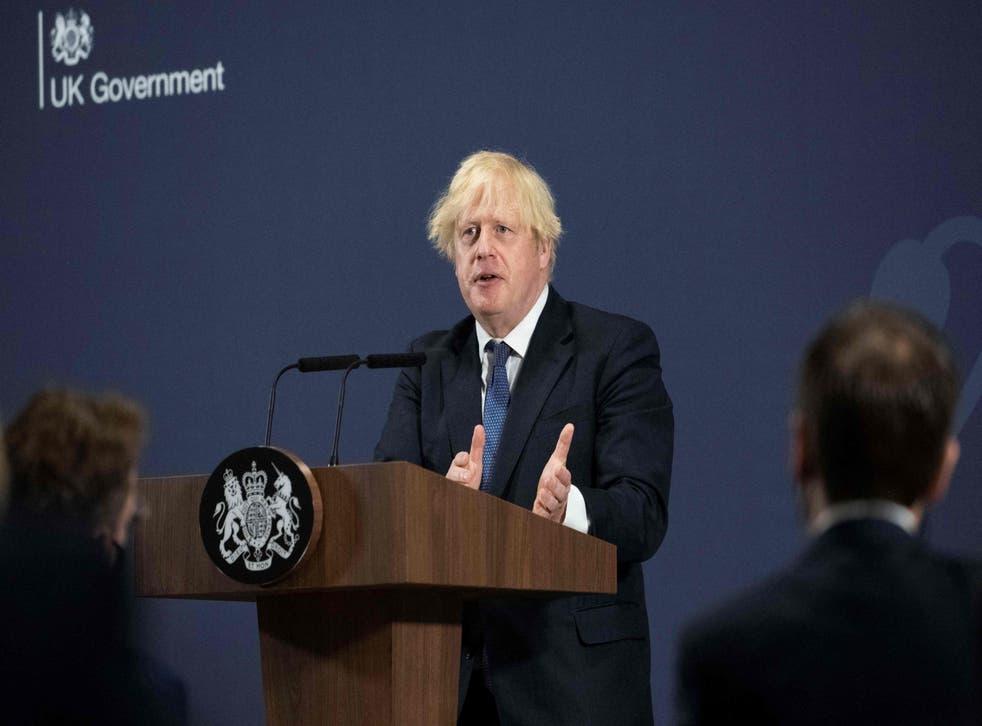 <p>Boris Johnson has plenty of work to do over the climate crisis</p>