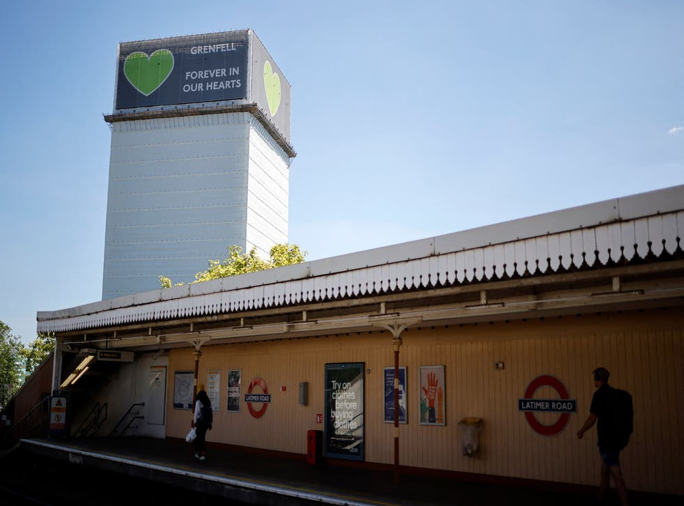 <p>Concerns over the safety of cladding were raised after the 2017 fire at Grenfell tower in which 72 people died</p>
