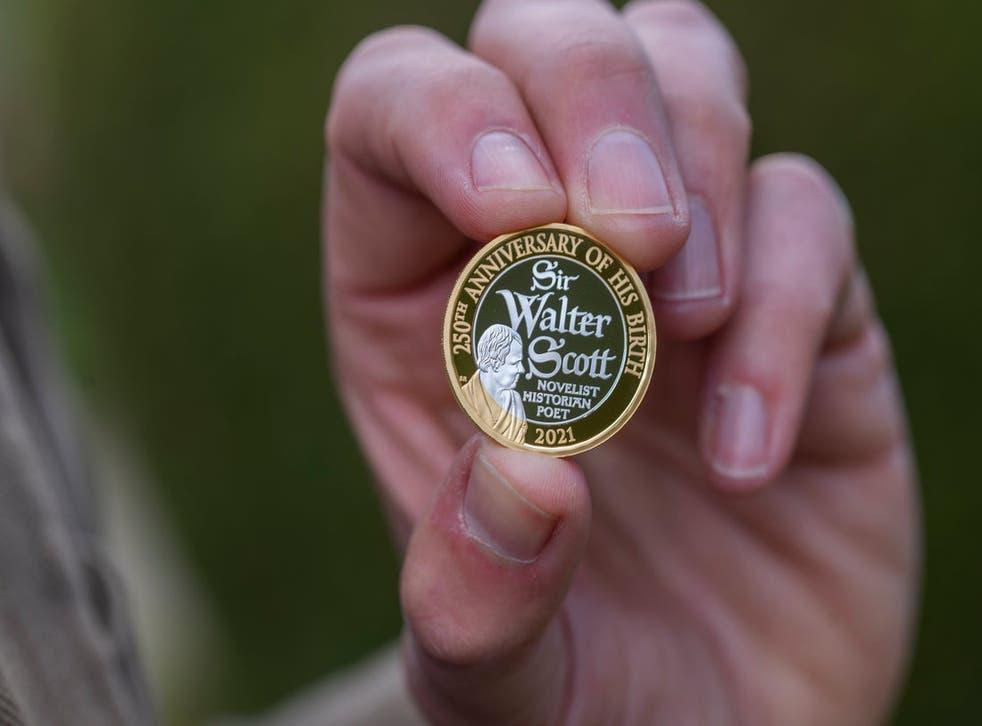 Sir Walter Scott coin