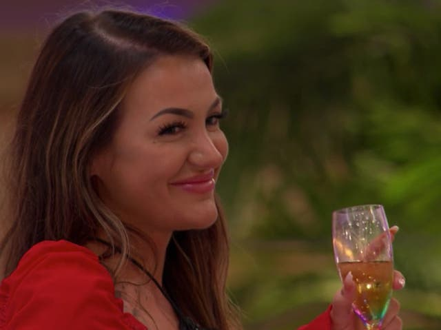 <p>New contestant Abigail on Love Island</p>
