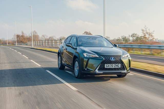 <p>The Lexus UX 300e is the first 'proper' battery electric vehicle from the Toyota group</p>