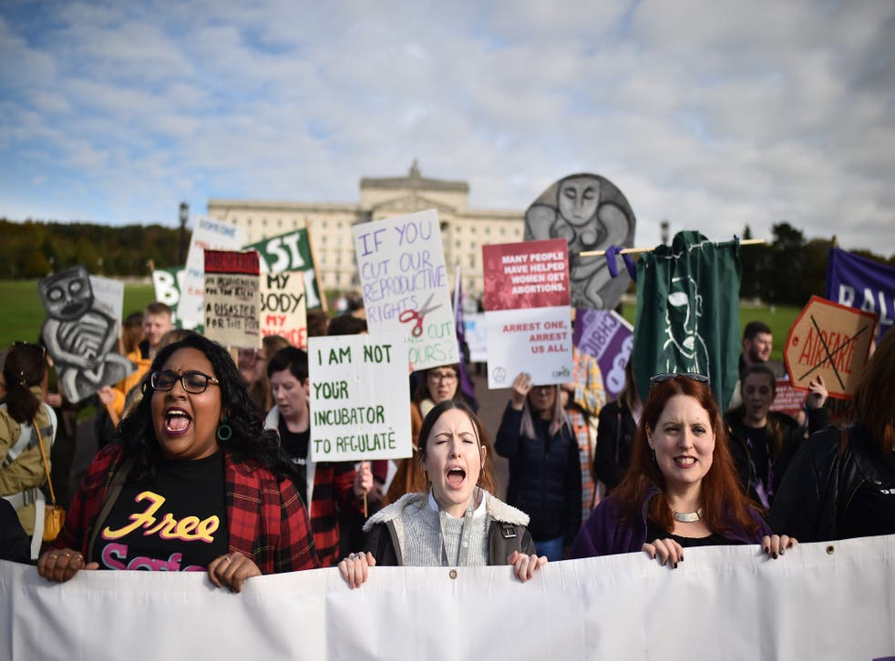<p>Mr Lewis warned 'immediate support' needs to be provided for current abortion services in Northern Ireland</p>