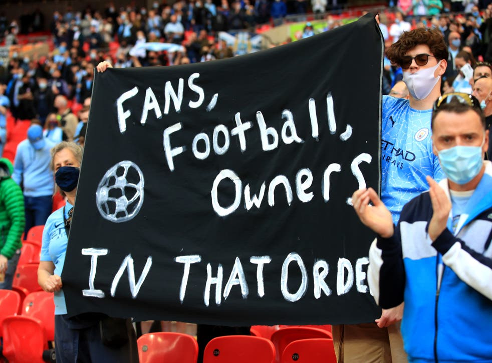<p>The threat of a Super League led to the commissioning of a fan-led review of football governance (Adam Davy/PA)</p>