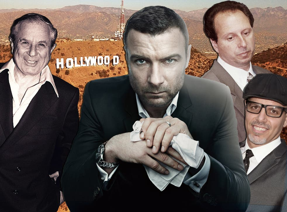 <p>From left: David Begelman, Ray Donovan (fictional), Anthony Pellicano and Dillon Jordan</p>