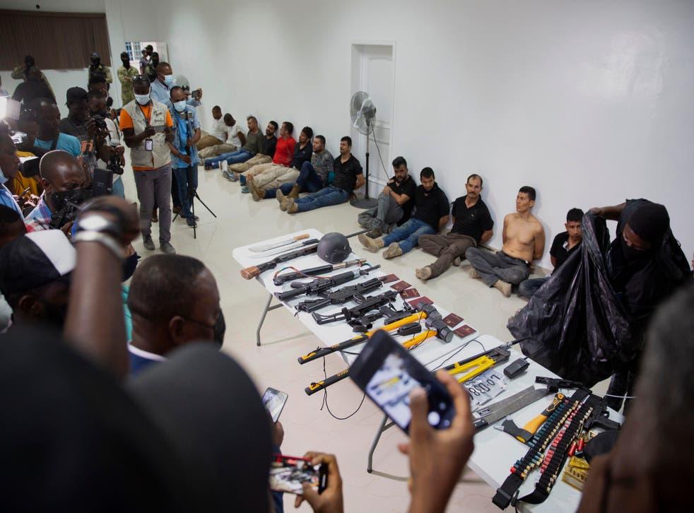 HAITI-MILITARES COLOMBIANOS