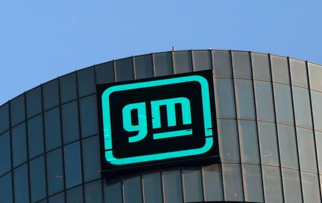 <p>General Motors logo</p>