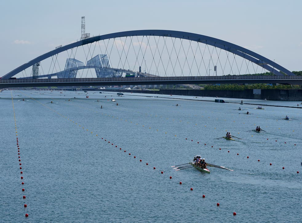 Racing got under way at the Sea Forest Waterway on Friday (Darron Cummings/AP)