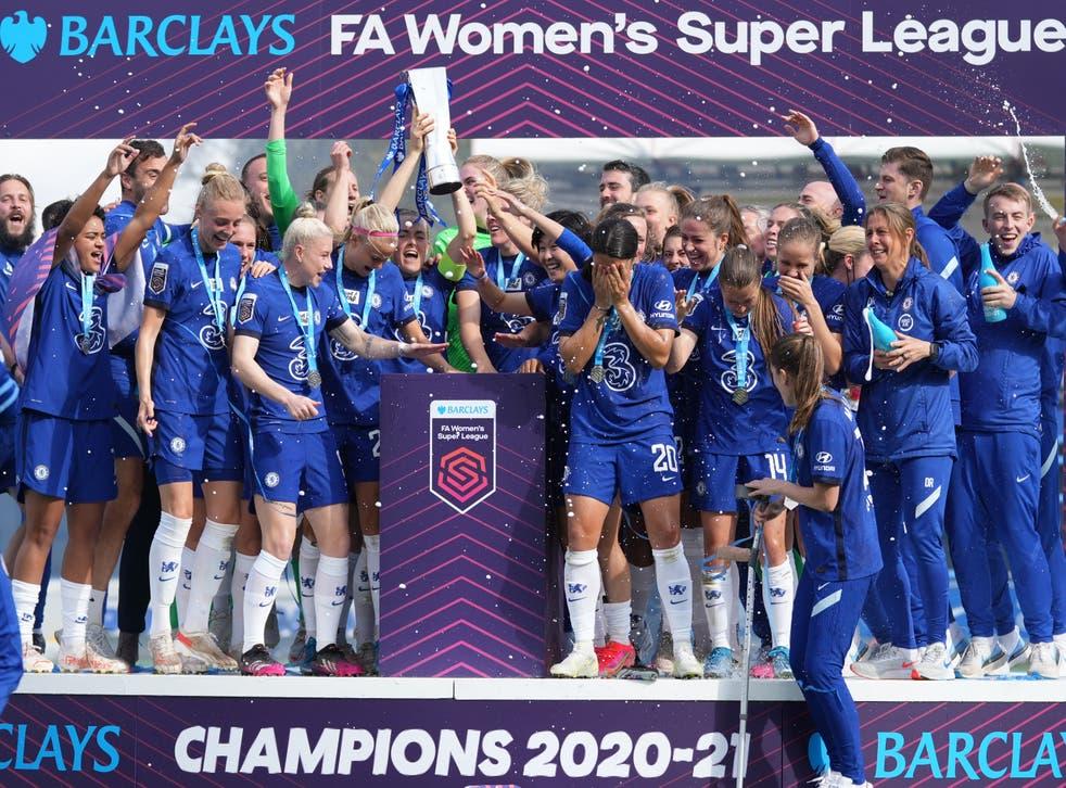<p>Chelsea retained the Women's Super League title last term (John Walton/PA)</p>