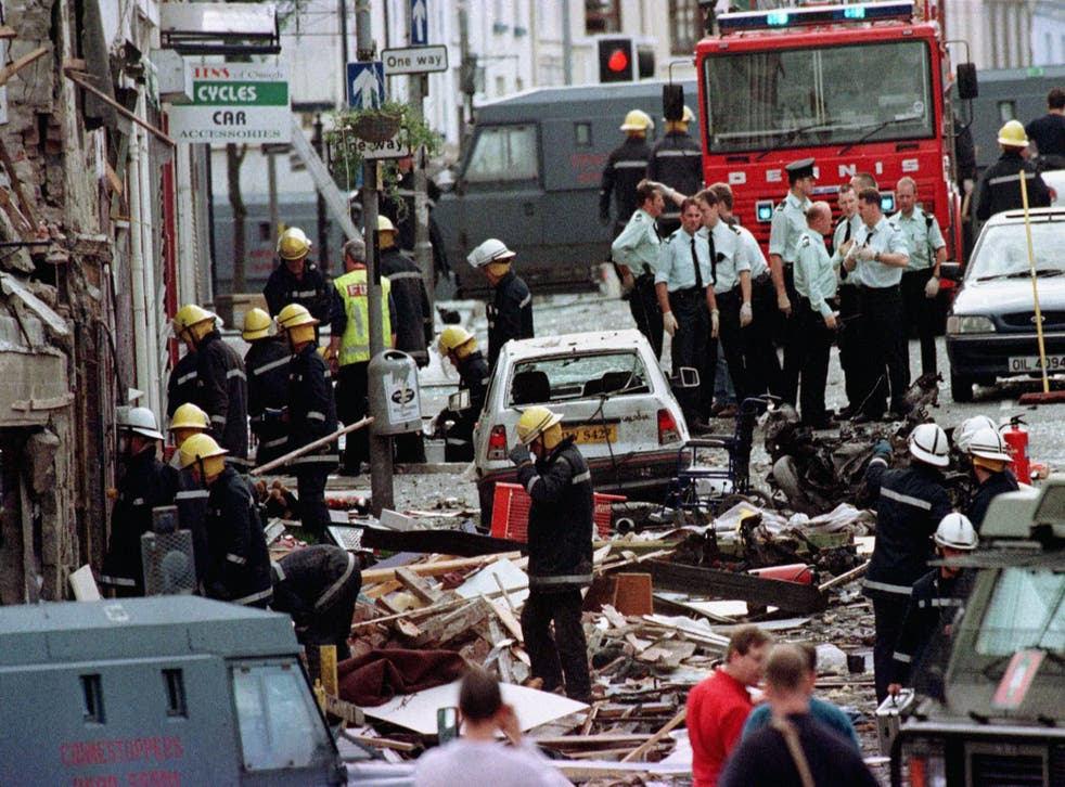 <p>The bombing in August 1998 killed 29 people</p>