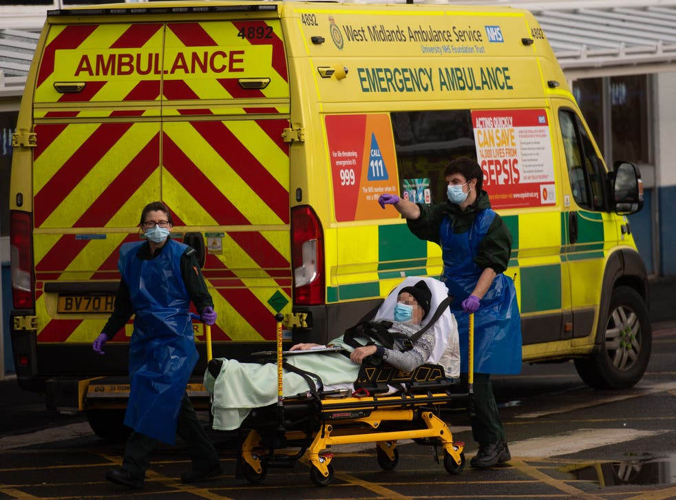 <p>Nine out of 10 ambulance trusts in England are under extreme pressure</p>