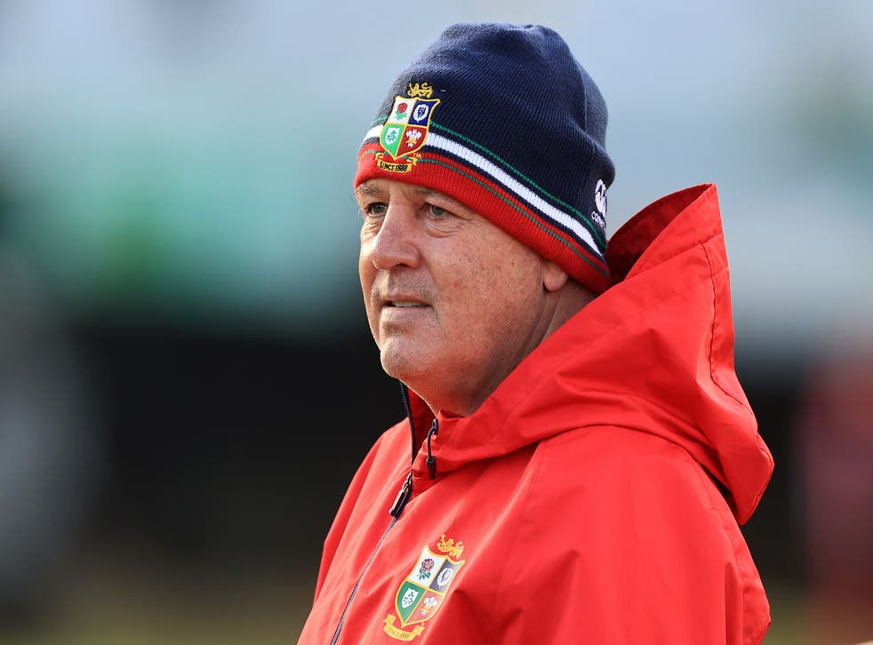 """<p>South Africa have rejected the """"mind games"""" of British and Irish Lions boss Warren Gatland, pictured (David Rogers/PA)</p>"""