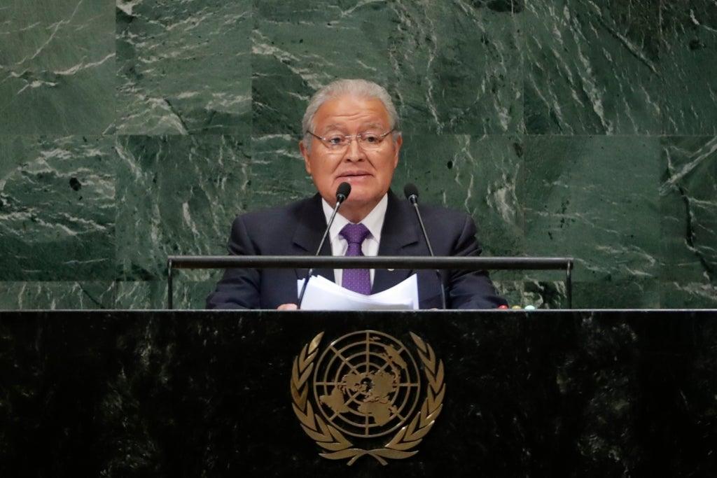 El Salvador seeks arrest of former president for corruption Courts Nicaragua Nayib Bukele El Salvador Francisco Flores