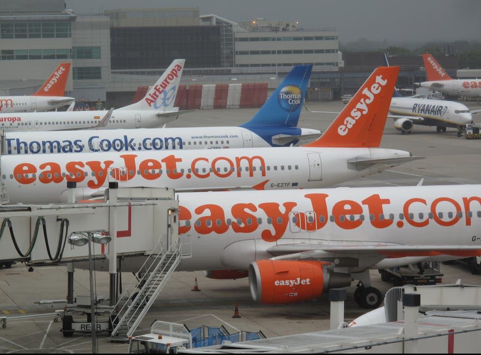 <p>The way we were: Gatwick airport before the coronavirus pandemic</p>