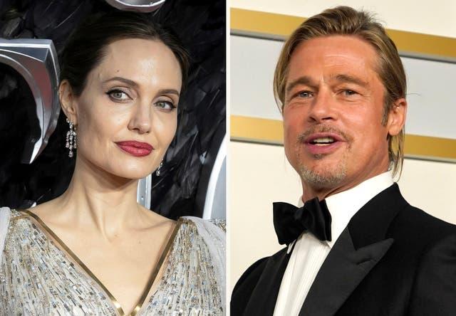 <p>Jolie Pitt Divorce</p>