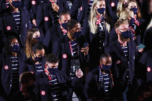 <p>La gente odia los atuendos de Ralph Lauren que usó el equipo de EE. UU. En la ceremonia de apertura de los Juegos Olímpicos</p>