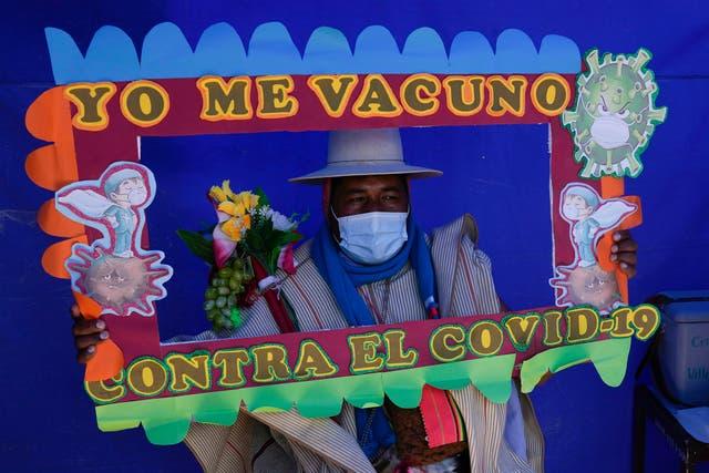 CORONAVIRUS BOLIVIA-VACUNA INDÍGENAS