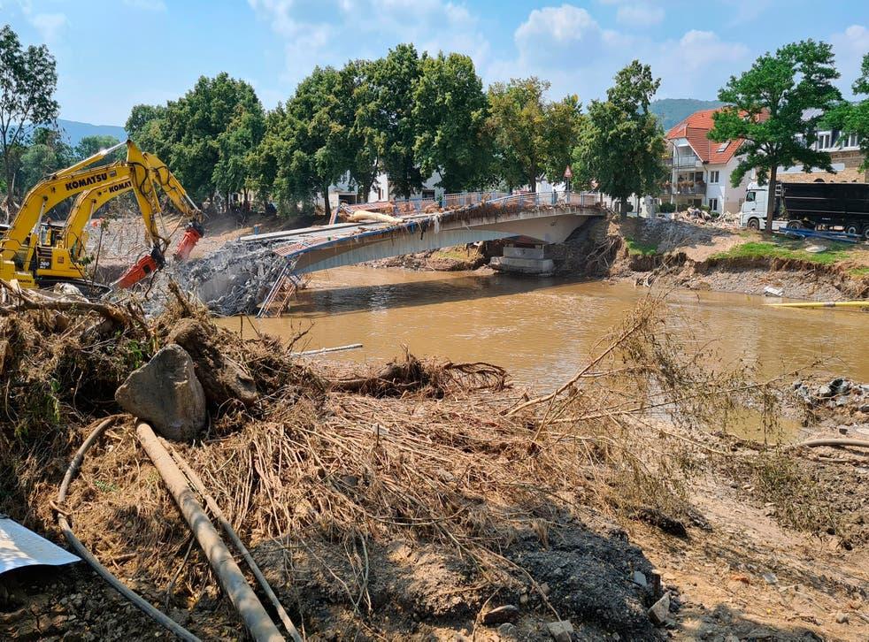 Germany Floods Warnings