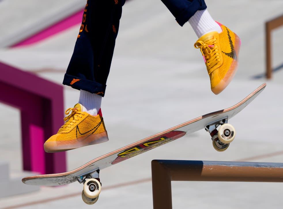 <p>Tokyo Olympics Skateboarding</p>