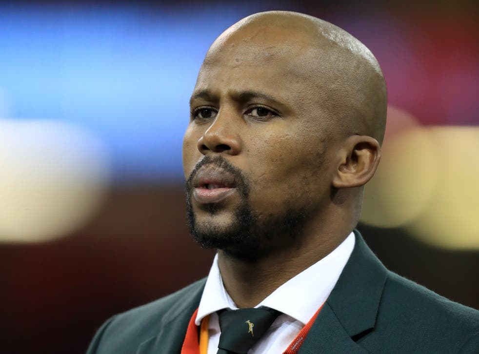 <p>Mzwandile Stick, pictured, has vowed that South Africa will settle any scores on egos on the pitch against the British and Irish Lions (Mike Egerton/PA)</p>