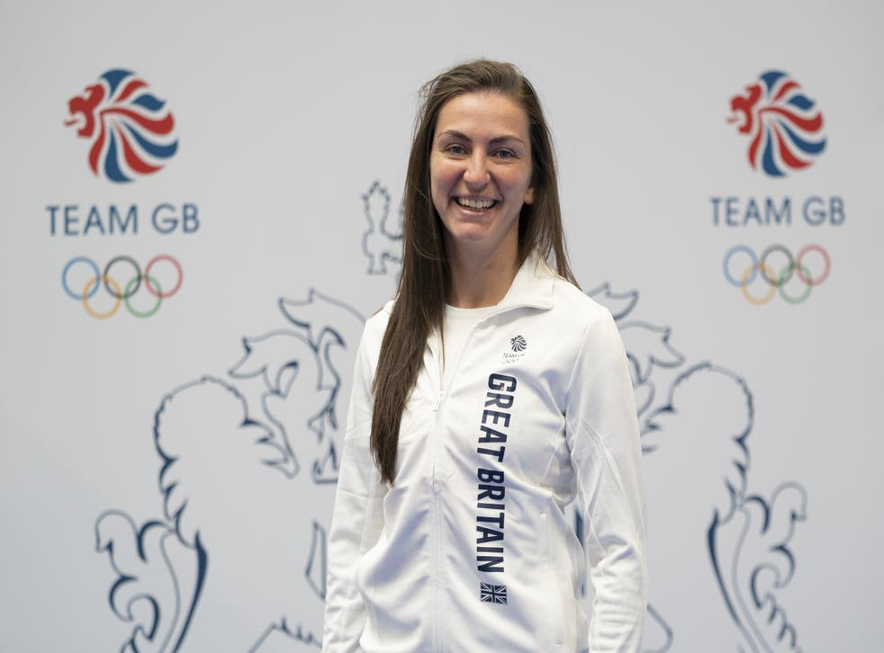 <p>Karriss Artingstall is into the next round of the women's 57kg category (Zac Goodwin/PA)</p>
