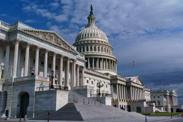 <p>Congress mask mandate</p>