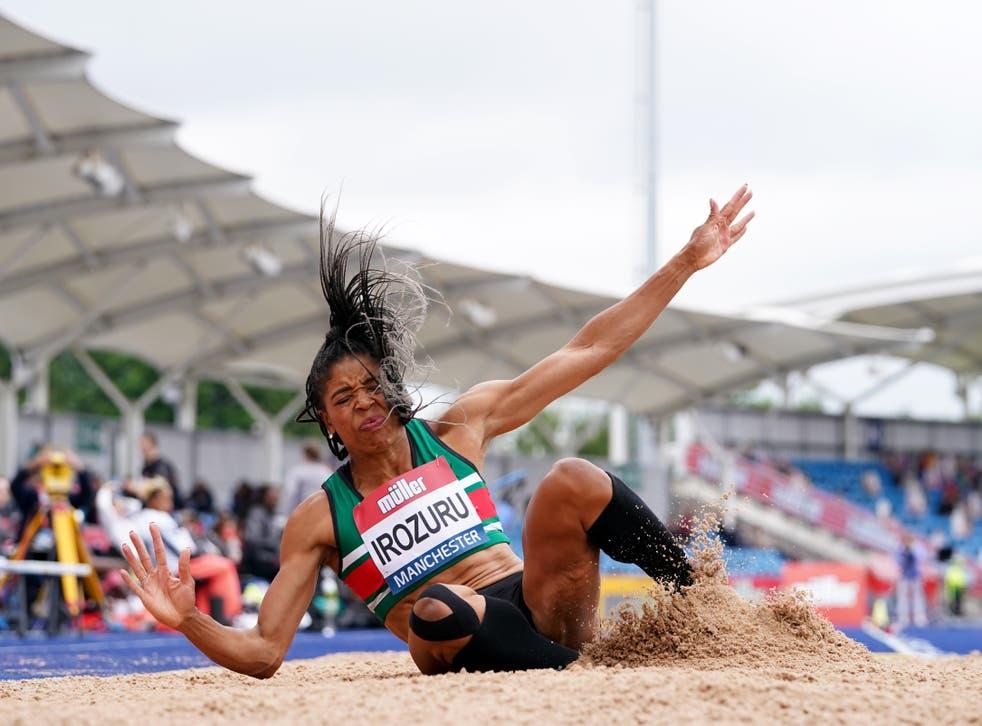 <p>Abigail Irozuru is preparing for her first Olympics (Martin Rickett/PA)</p>