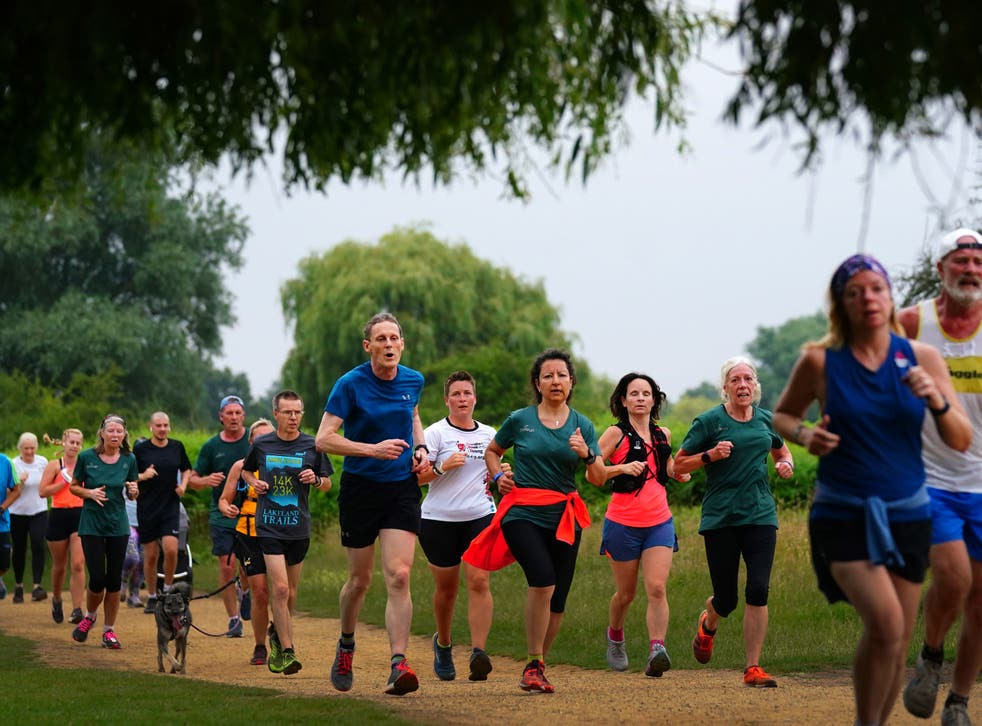 <p>Around 293 people attended the first run back in Southwark</p>