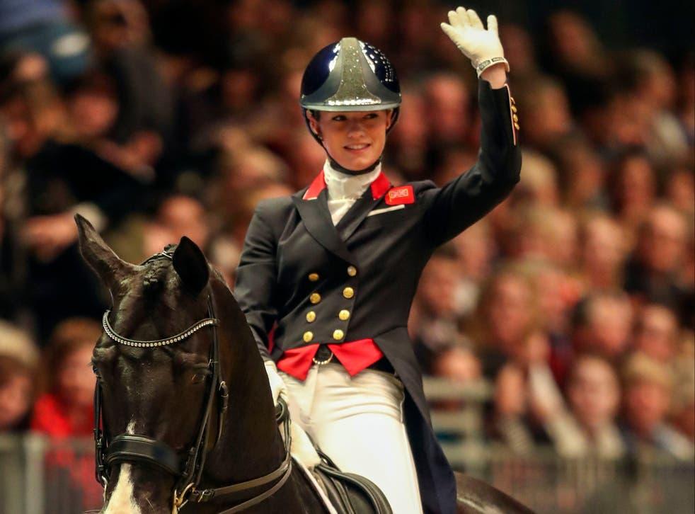 <p>Great Britain dressage rider Charlotte Fry</p>