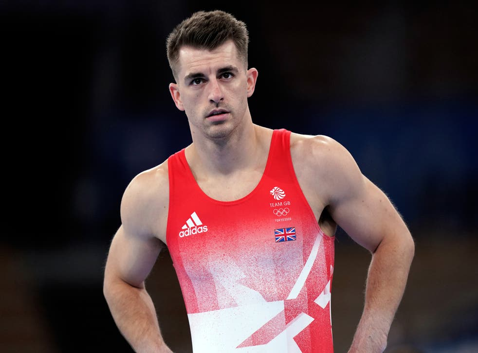 <p>Max Whitlock safely negotiated pommel qualifying in Tokyo (Mike Egerton/PA)</p>