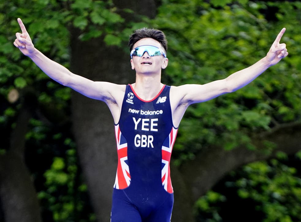 <p>Alex Yee laid down a marker with victory in Leeds last month (Danny Lawson/PA)</p>
