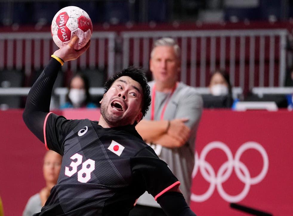 APTOPIX Tokyo Olympics Handball
