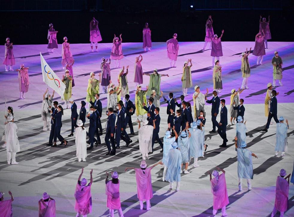 <p>Tokyo Olympics Opening Ceremony</p>