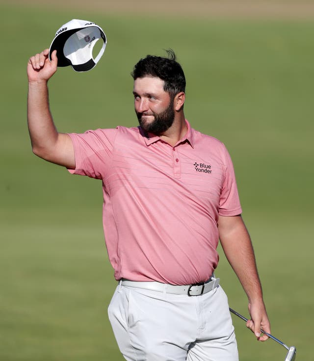 <p>Jon Rahm finished in a tie for third at The Open last week</p>