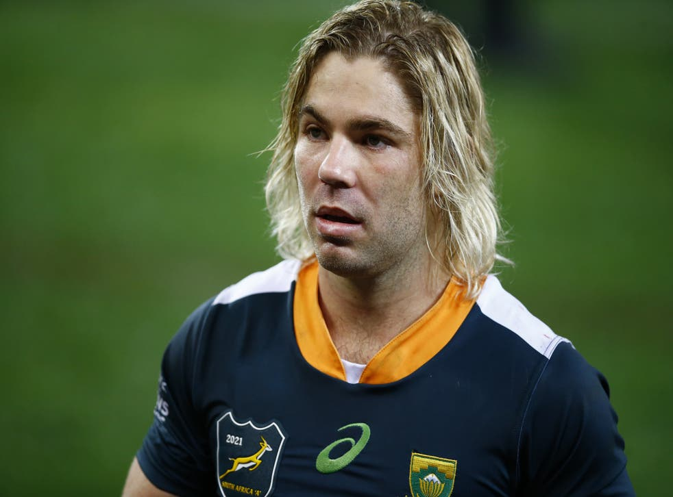 <p>Faf De Klerk has warned the British and Irish Lions to beware the 'wounded' Springboks (Steve Haag/PA)</p>