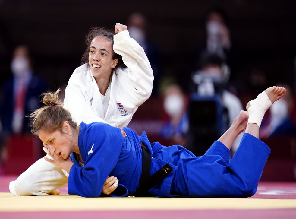 <p>Chelsie Giles won Team GB's first medal of Tokyo 2020 with bronze in judo (Danny Lawson/PA)</p>