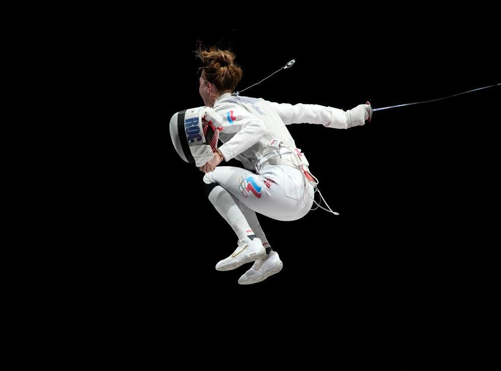 APTOPIX Tokyo Olympics Fencing
