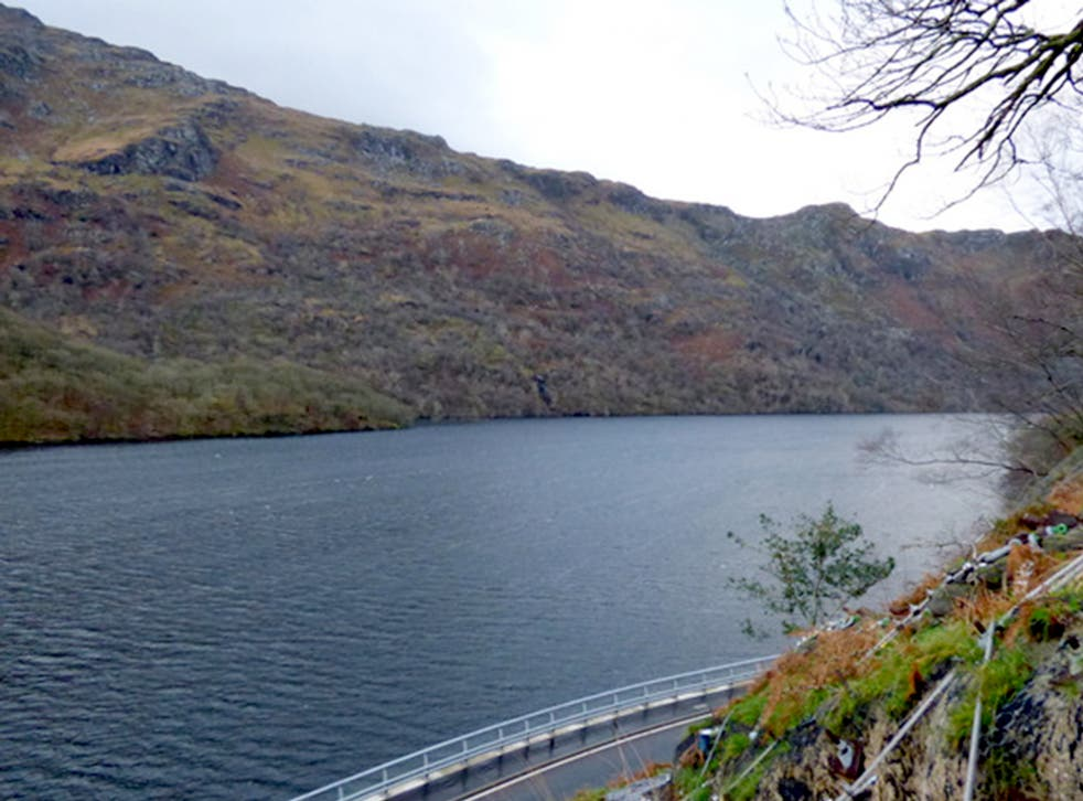 <p>Drownings: the three got into difficulty at the Ardlui end of the loch, pictured</p>