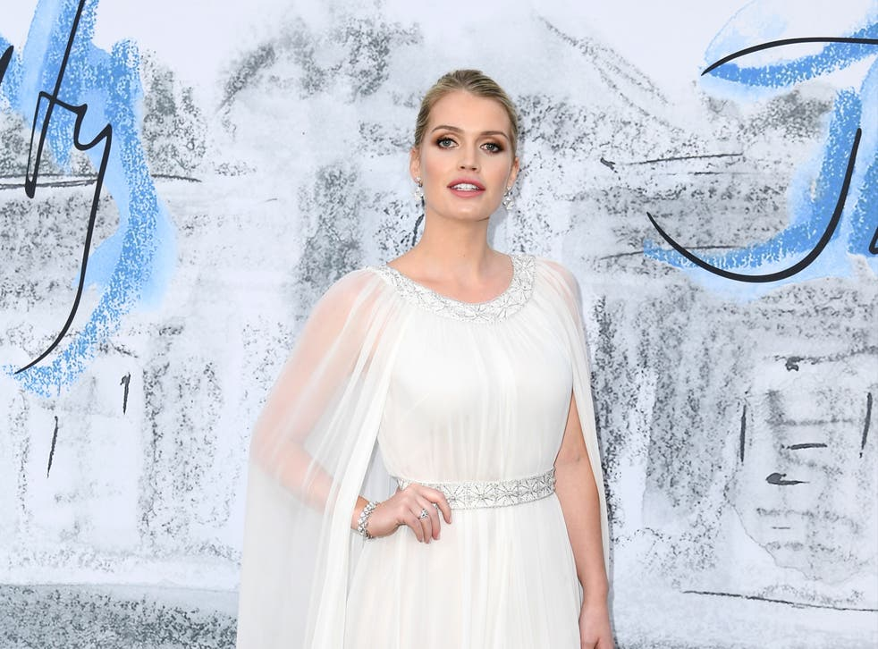 <p>Lady Kitty Spencer marries millionaire fashion mogul Michael Lewis </p>
