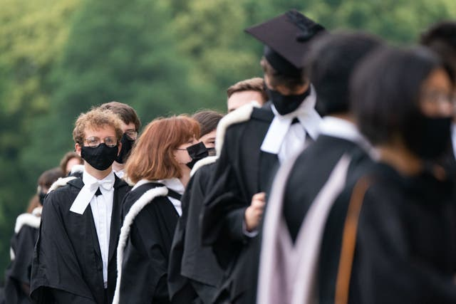 <p>Graduates can end up leaving university with debts of £60,000 </p>