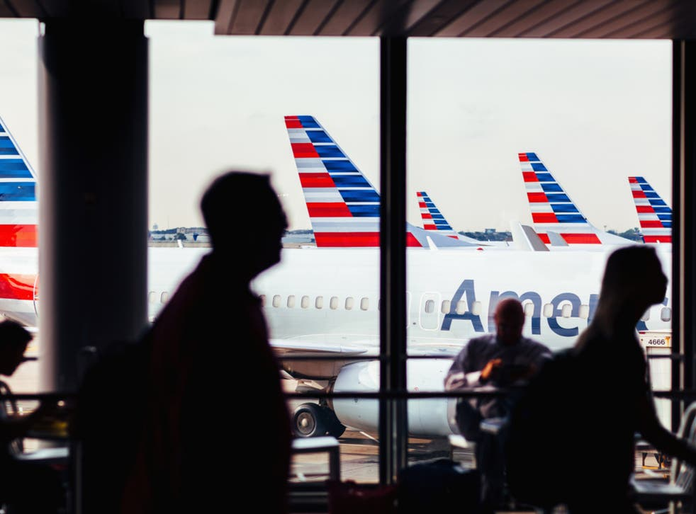 <p>The incident occurred on an American Airlines flight</p>