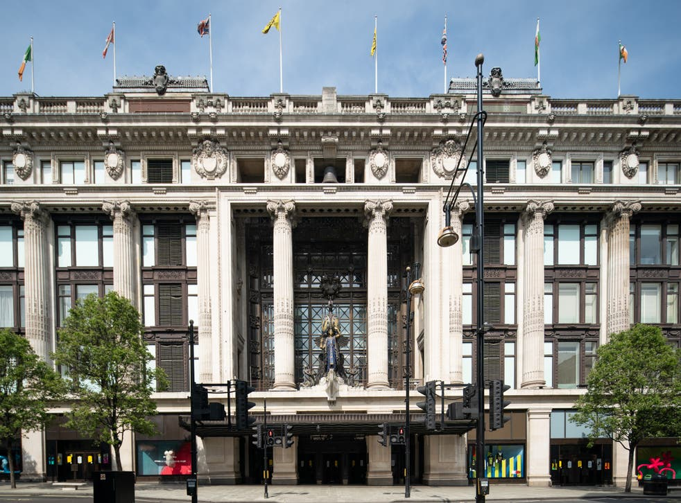 The billionaire owners of Selfridges have launched a formal auction to sell the historic department store business (Aaron Chown/PA)