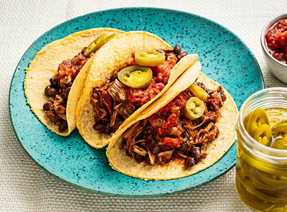 <p>After just a few minutes on the stove, these tacos are ready to go</p>