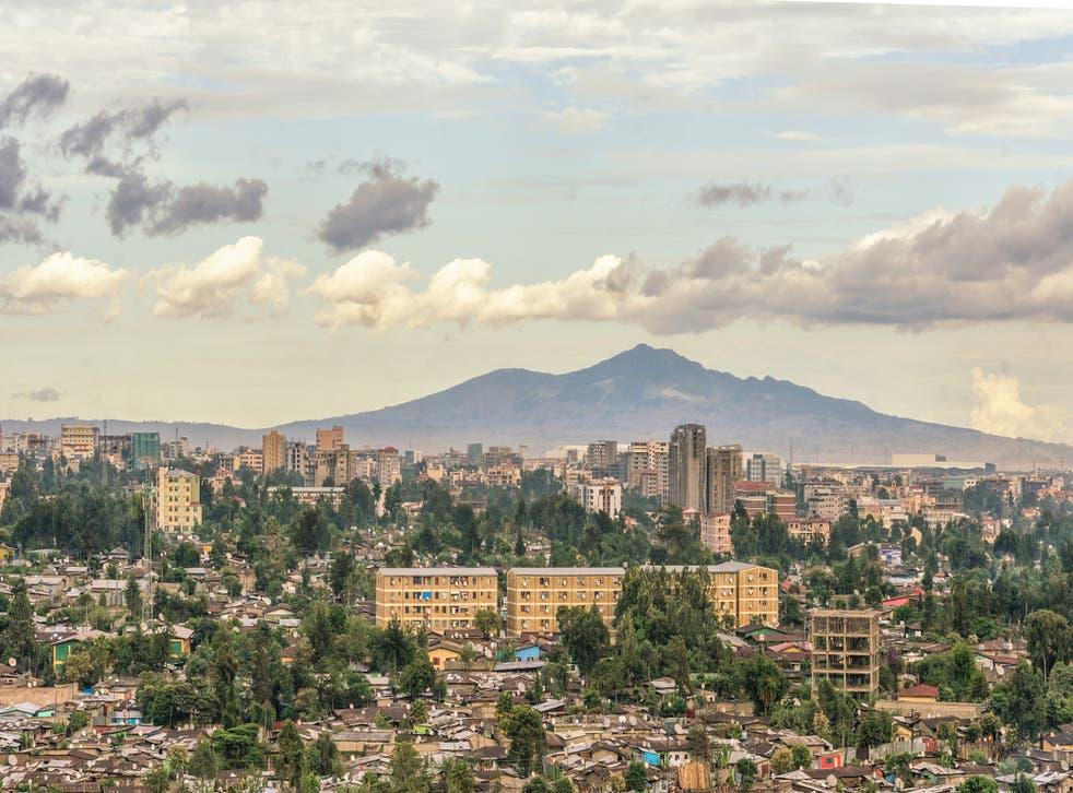 <p>Ethiopian capital Addis Ababa</p>